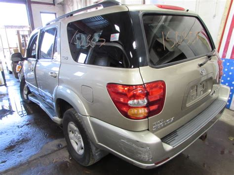 toyota foreign car parting out 2002 toyota sequoia stock 150357 tom s