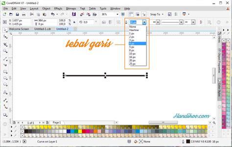 tutorial belajar coreldraw dasar belajar coreldraw 4 panah dan infografis berpanah