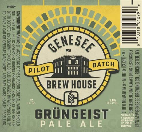 genesee brew house genesee brew house releases new gr 252 ngeist pale ale the beer connoisseur