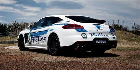 police porsche porsche panamera police car program extended with new 4s