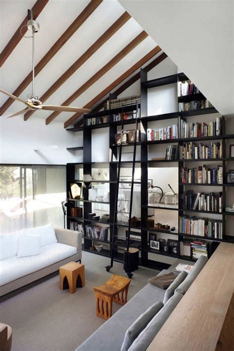 home library modern design 27 modern home library designs that stand out digsdigs