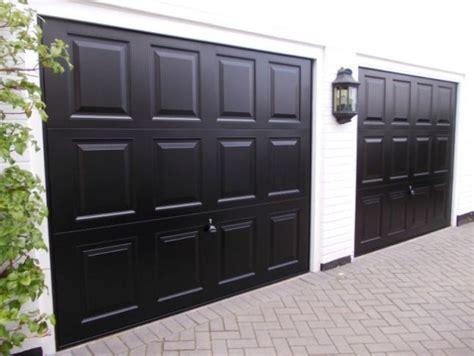 17 best ideas about black garage doors on