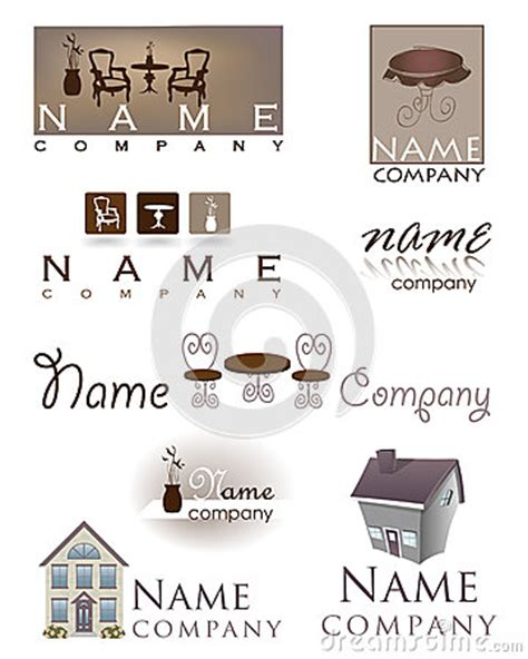 Upholstery Companies by Home Design Furniture Logo Stock Photo Image 30126370