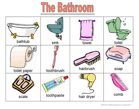 english word for bathroom 21 wonderful bathroom furniture vocabulary eyagci com