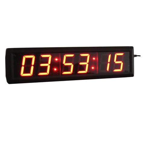 digital high led countdown clock  hours minutes