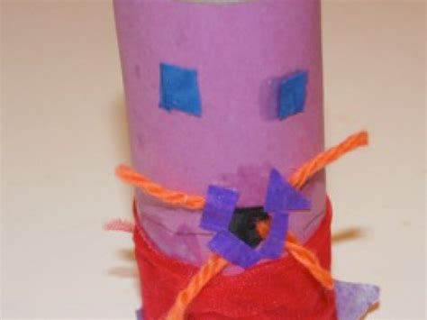 Make Finger Puppets Out Of Paper - finger puppets out of toilet paper greater