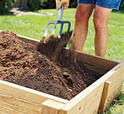 How To Build A Raised Bed Vegetable Garden How To Fill A Raised Vegetable Garden Bed