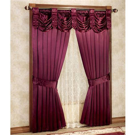 satin curtain panels paris crepe satin curtains