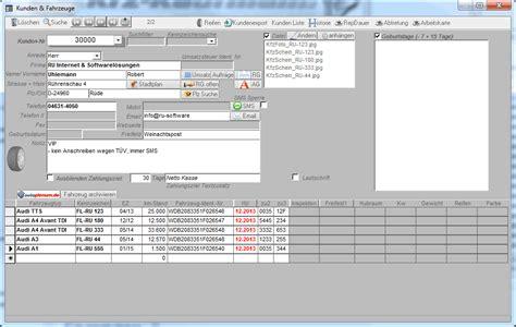 werkstatt verwaltung werkstatt software programm kfz handel autohaus