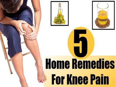 5 home remedies for knee