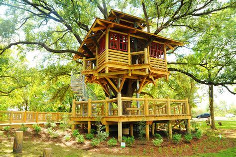 treehouse community bridgeland builds its own community tree house houston