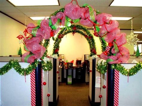 christmas decorations at work yet office bay decoration themes with pictures ideas niudeco interior designs