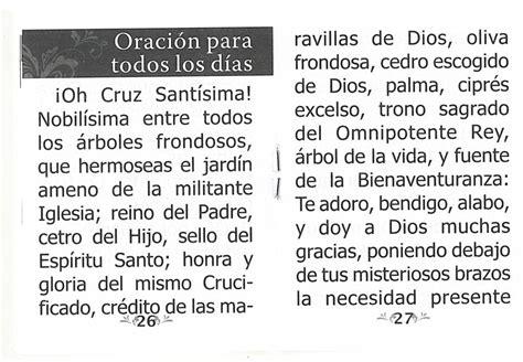 la oracion de santa cruz devocion y novena a la santa cruz de jerusalem ls233