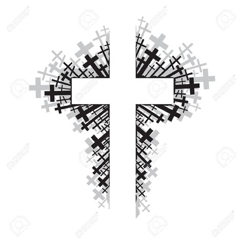 abstract cross coloring pages abstract cross clipart 85