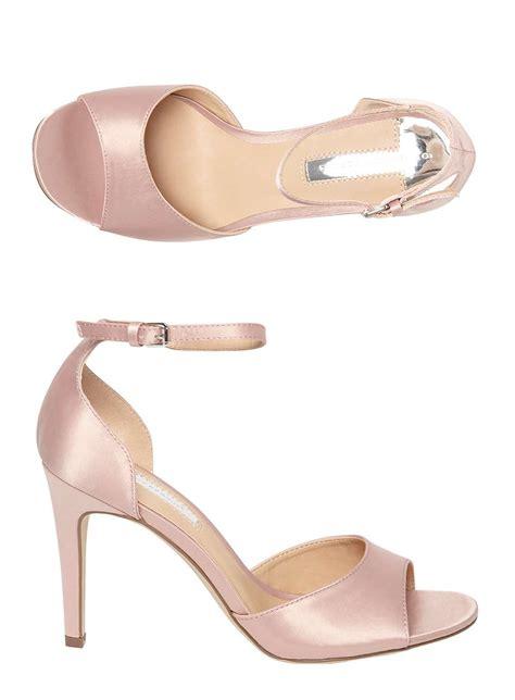 blush sandals blush satin shay sandals heels shoes boots