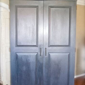 farmhouse shabby armoire or from theyardleycottage on
