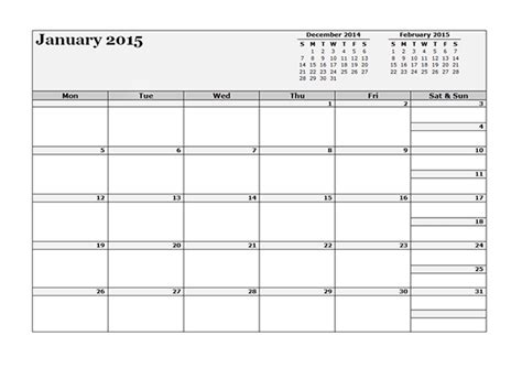 3 Day Calendar Template 2015 three monthly calendar template free printable