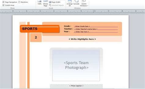 powerpoint yearbook template yearbook template for microsoft publisher powerpoint