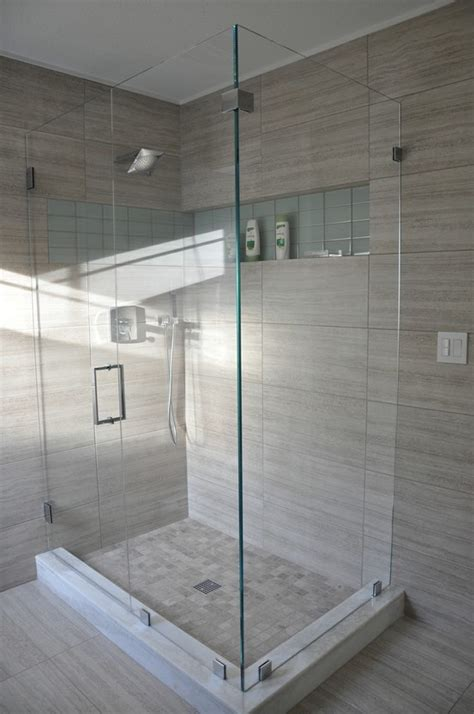 12x24 tile bathroom this stunning shower design showcases seta glazed