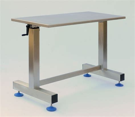 adjustable height table adjustable packing table trolley neocare