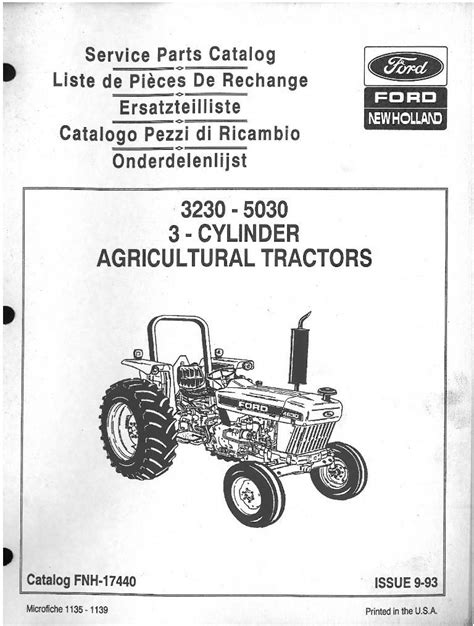 Standard Ignition Tractor Parts Allis Chalmers Fuel System Allis Free Engine Image For