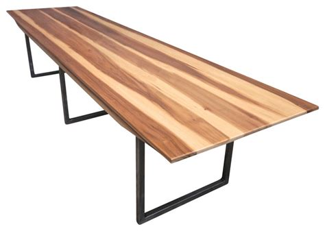 Ten Person Dining Table Minimalist Modern Dining Table Desk 10 Person Modern Dining Tables By Monkwood Studio