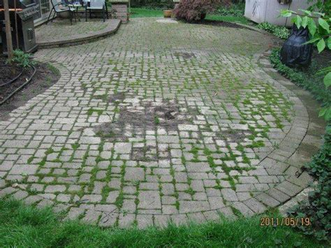 How To Clean Paver Patio Paver Patio Cleaning