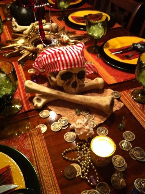 pirate themed table decorations pirate table decor pirate theme