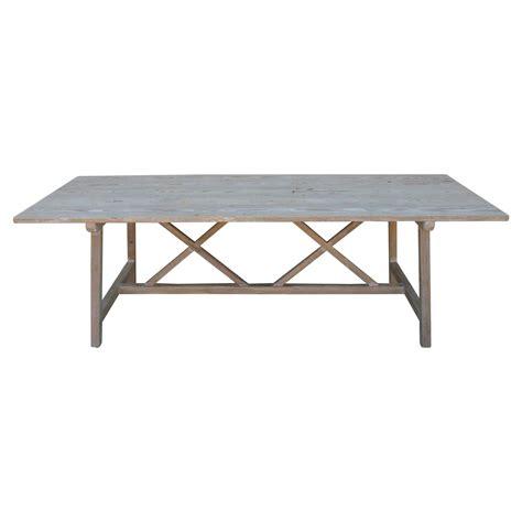 Trestle Dining Table Sale Vintage Pine Harvest Table Xx Trestle Farm Table For Sale At 1stdibs