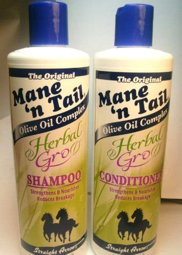 Shoo Mane N Herbal Gro mane n herbal gro shoo conditioner olive
