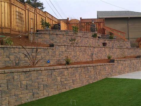 terraced retaining walls engineering feed