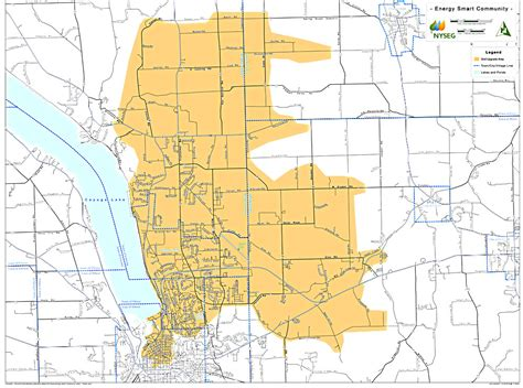 nyseg power outage map smart meters coming to lansing the lansing