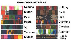 mayan colors personalized embroidered collars traditional