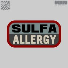 Sulfonamides Also Search For Sulfa Drugs Allergy Allergy Allergies Aid And Search