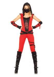 Female Halloween Costumes Women S Ninja Assassin Costume