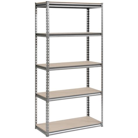 handy storage 1830hx910wx400dmm 5 tier shelving unit