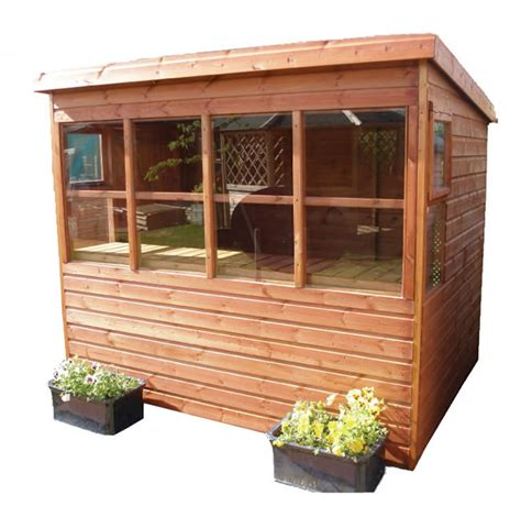 Pent Potting Shed by Sunflower Pent Potting Shed 8 X 6