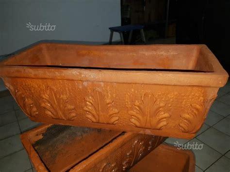 vasi e fioriere vasi in terracotta prezzi vendo 7 fioriere di terracotta all bergamo posot class
