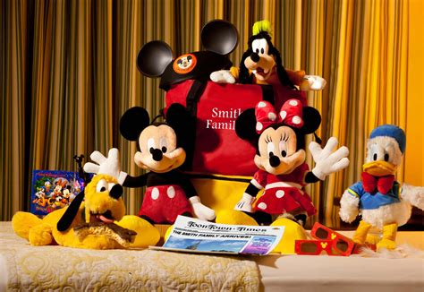 disney in room gifts new disney world in room gifts available for your celebration travel specializing in