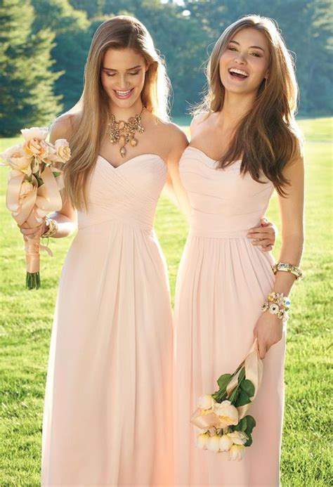 petal colored bridesmaid dresses 25 best ideas about bridesmaid dresses on