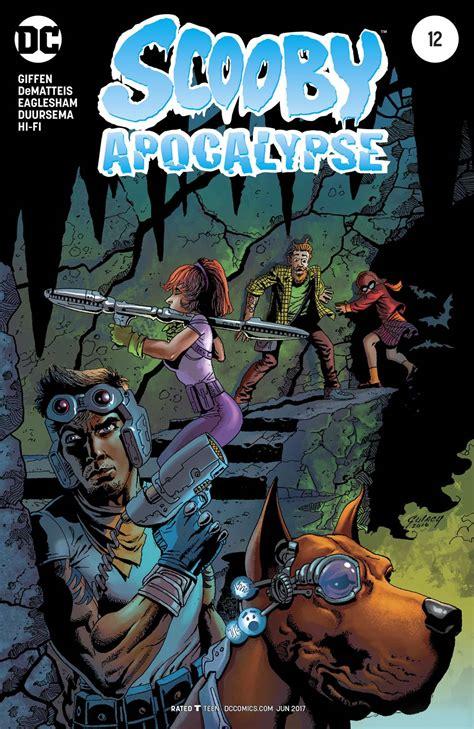 scooby apocalypse vol 2 scooby apocalypse 12 variant cover fresh comics