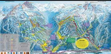 whistler blackcomb ski resort map whistler canada mappery