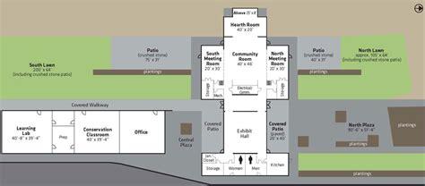 facility floor plan brightwater center facility floor plan king county