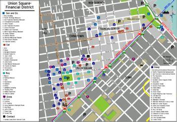 san francisco map financial district san francisco union square financial district wikitravel