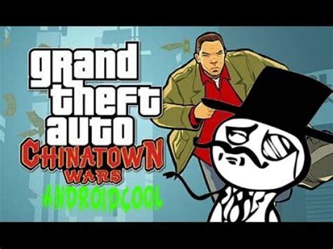 gta chinatown apk gta chinatown wars apk y datos descargalo para tu android