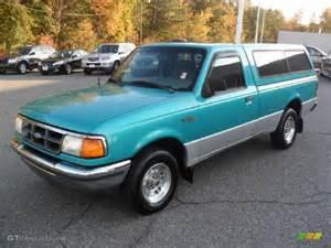 1994 bright calypso green metallic ford ranger xlt regular