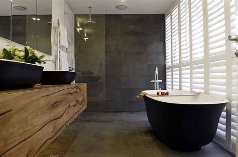 Small Ensuite Bathroom Designs Ideas by Matte Black Amiata Bath Wins The Block Master Ensuite