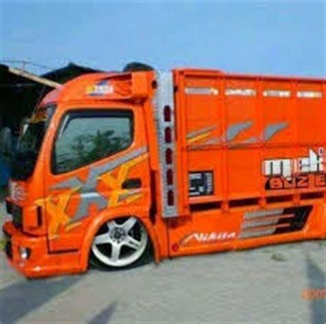 Modifikasi Mobil Canter 125 Hd by Modifikasi Mobil Truck Mitsubishi Canter 125 Hd Gaul Terbaru
