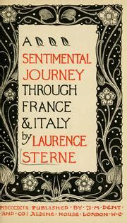 a sentimental journey through and italy books a sentimental journey through and italy open library
