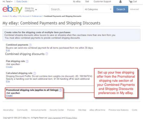 ebay shipping ebay shipping discounts ebay seller center